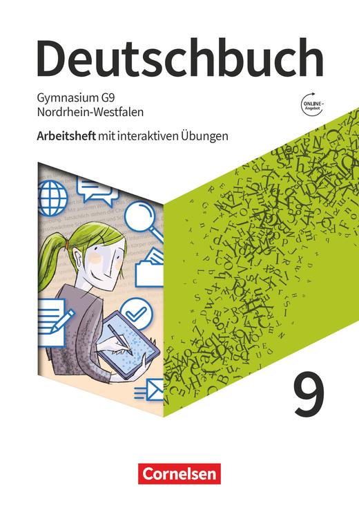 Deutschbuch Gymnasium - Arbeitsheft mit interaktiven Übungen auf scook.de - 9. Schuljahr