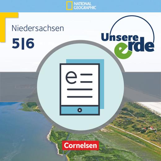 Unsere Erde - Schülerbuch als E-Book - 5./6. Schuljahr