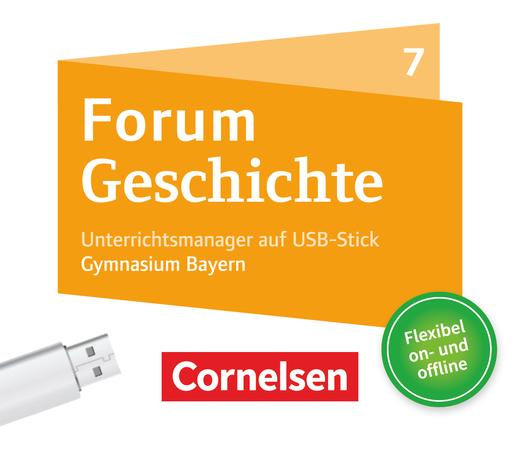 Forum Geschichte - Neue Ausgabe - Unterrichtsmanager Plus auf USB-Stick - 7. Jahrgangsstufe