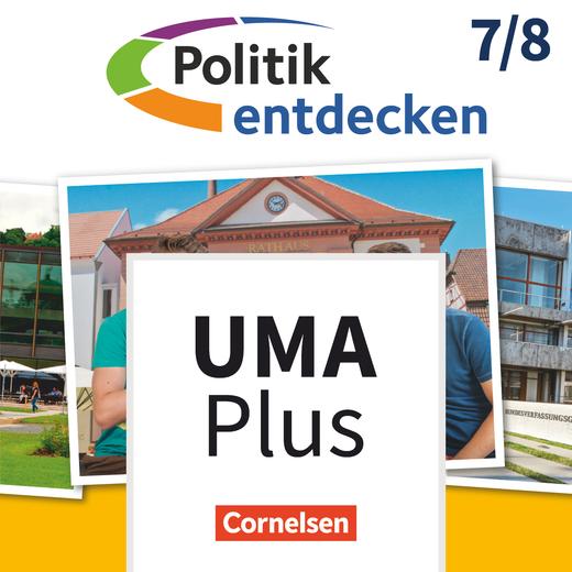 Politik entdecken - Unterrichtsmanager Plus - mit Download für Offline-Nutzung - Band 1: 7./8. Schuljahr