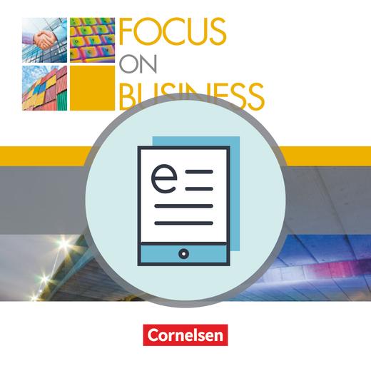 Focus on Business - Schülerbuch als E-Book - B1/B2