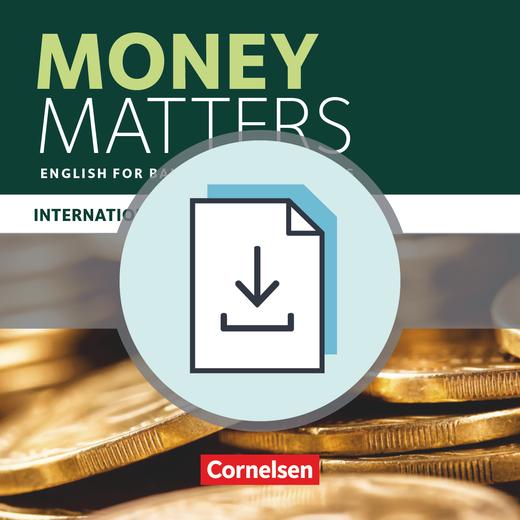 Matters - International Edition - English for Banking Professionals - Handreichungen für den Unterricht als Download - B1 - Mitte B2