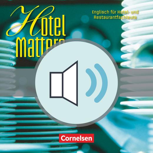 Hotel Matters - Audio-Dateien als Download - Mitte A2-Ende B1