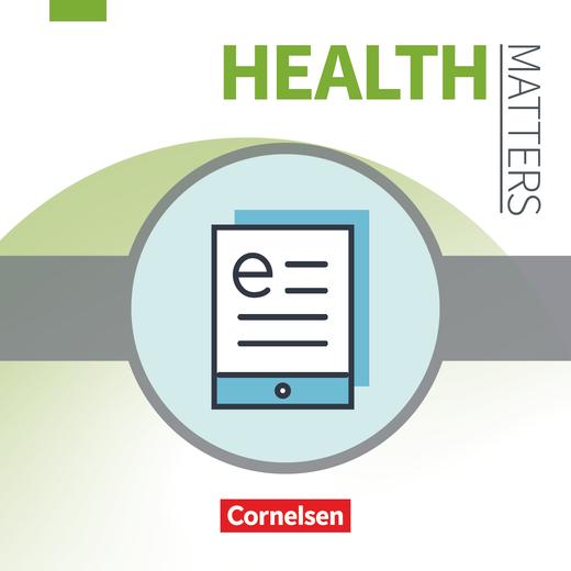 Health Matters - Schülerbuch als E-Book - A2/B1