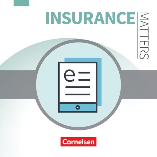 Matters Wirtschaft - Englisch für Kaufleute für Versicherungen und Finanzen - Schülerbuch als E-Book - B1-Mitte B2