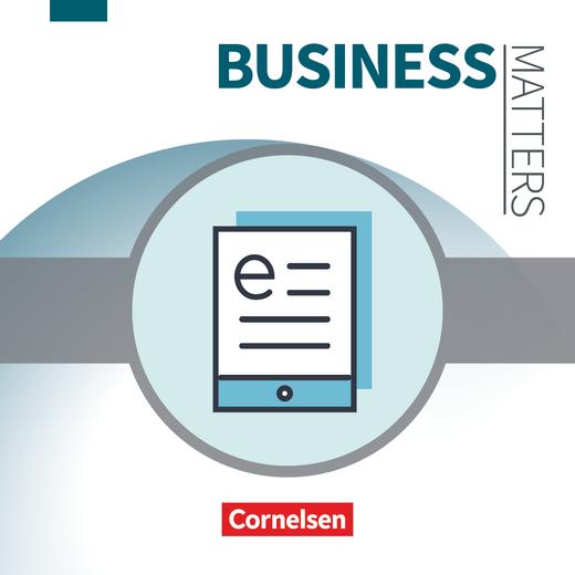 Matters Wirtschaft - Englisch für kaufmännische Berufe - Schülerbuch als E-Book - A2-B2