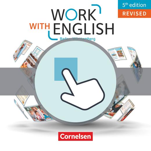 Work with English - Interaktive Übungen als Ergänzung zum Arbeitsheft - A2-B1+
