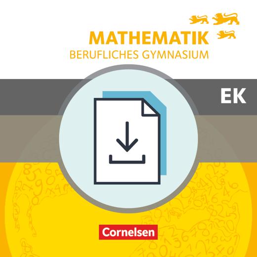 Mathematik - Berufliches Gymnasium - Lösungen zum Schülerbuch als Download - Eingangsklasse