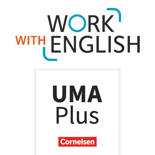 Work with English - Unterrichtsmanager Plus - mit Download für Offline-Nutzung - A2-B1+