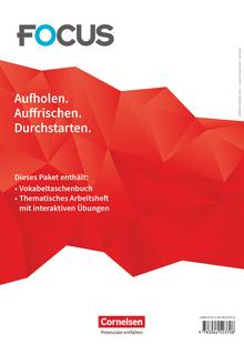 Focus on Grammar - Vokabeltaschenbuch und Thematisches Arbeitsheft mit interaktiven Übungen - B1/B2
