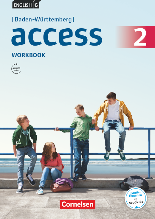 English G Access - Workbook mit Audios online - Band 2: 6. Schuljahr