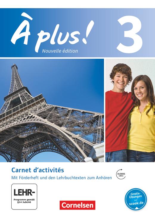 À plus ! - Carnet d'activités mit Audios und Videos online - Band 3