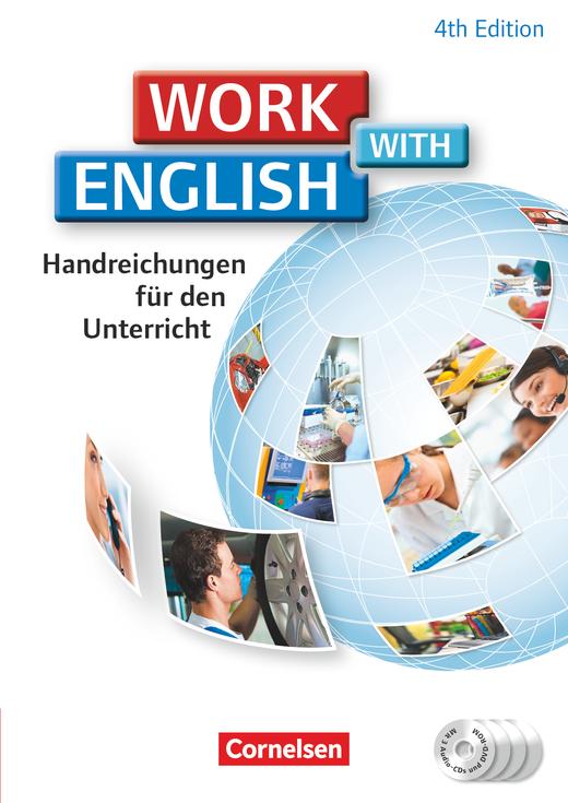 Work with English - Handreichungen für den Unterricht mit DVD-ROM und CDs - A2/B1