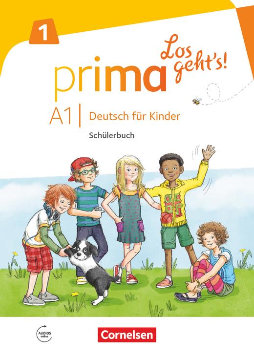 Prima - Los geht's! - Schülerbuch mit Audios online - Band 1