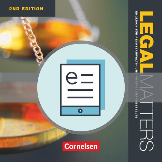 Legal Matters - Schülerbuch als E-Book - B1/B2