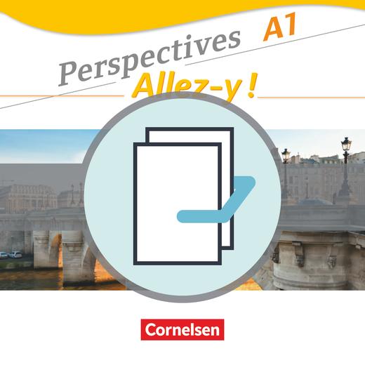 Perspectives Allez Y Kurs Und übungsbuch Und Sprachtraining Im Paket A1 Cornelsen
