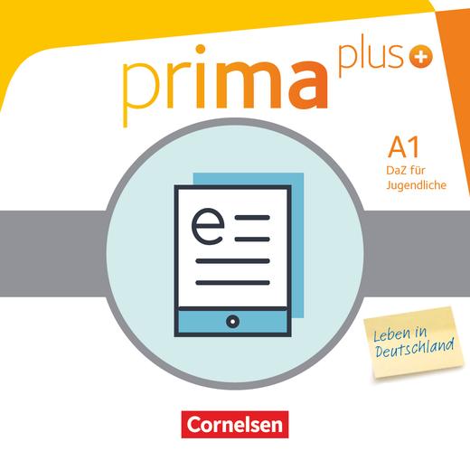 Prima plus - Leben in Deutschland - Schülerbuch als E-Book - A1