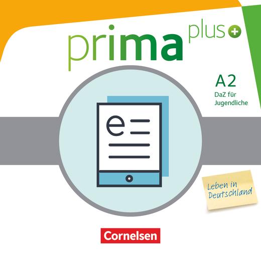 Prima plus - Leben in Deutschland - Schülerbuch als E-Book - A2