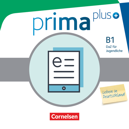 Prima plus - Leben in Deutschland - Schülerbuch als E-Book - B1