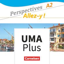Perspectives - Allez-y ! - Unterrichtsmanager Plus - mit Download für Offline-Nutzung - A2