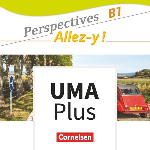 Perspectives - Allez-y ! - Unterrichtsmanager Plus - mit Download für Offline-Nutzung - B1