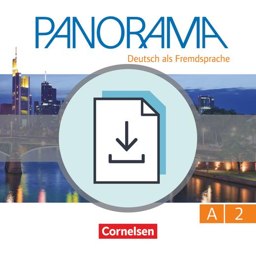 Panorama - Handreichungen für den Unterricht zum Übungsbuch DaZ als Download - A2: Gesamtband