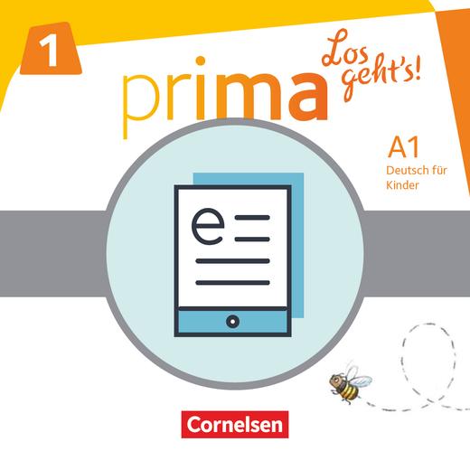 Prima - Los geht's! - Schülerbuch als E-Book - Band 1