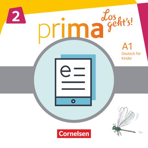 Prima - Los geht's! - Schülerbuch als E-Book - Band 2
