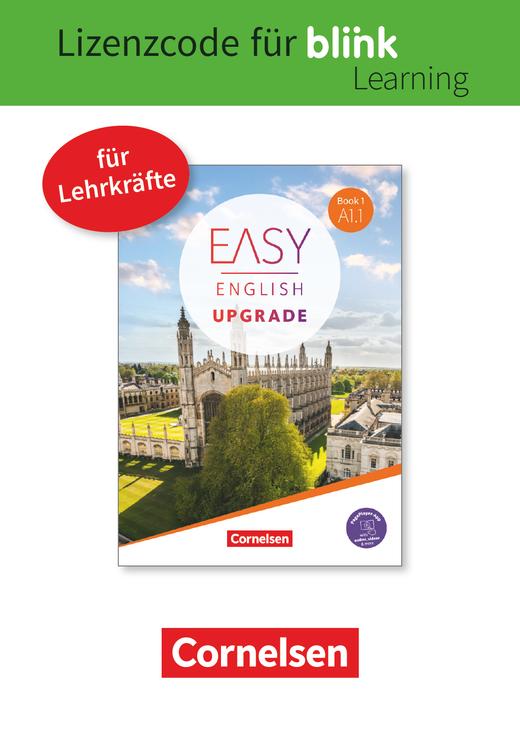 Easy English Upgrade - Coursebook als E-Book mit Audios und Videos - Book 1: A1.1