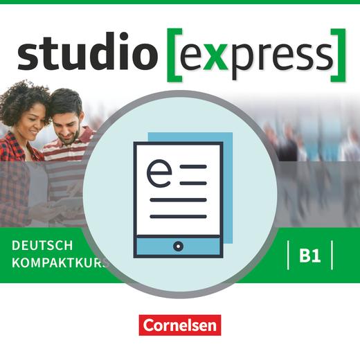Studio [express] - Kurs- und Übungsbuch als E-Book (auf scook) - B1