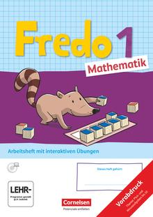 Fredo - Mathematik - Teilabdruck vom Arbeitsheft - 1. Schuljahr