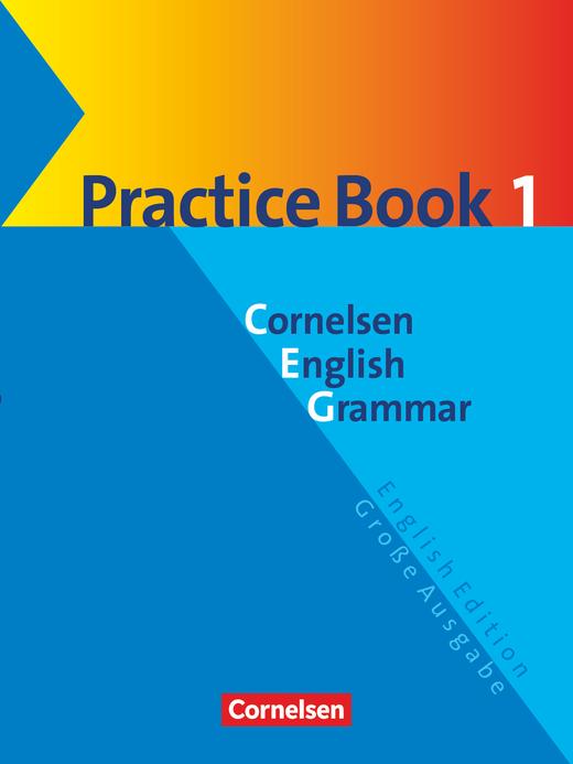 Cornelsen English Grammar - Practice Book 1 mit eingelegtem Lösungsschlüssel