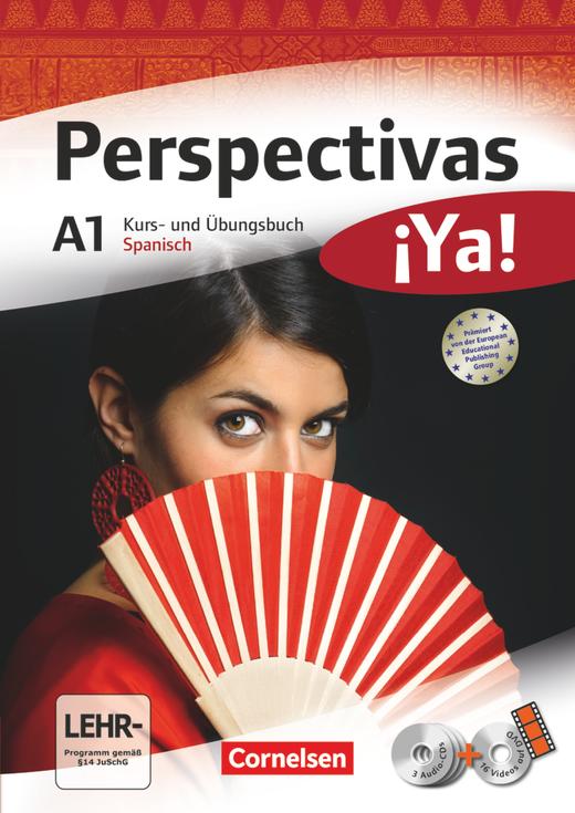 Perspectivas ¡Ya! - Kurs- und Übungsbuch mit Vokabeltaschenbuch und Lösungsheft - A1