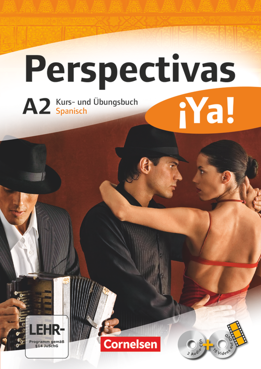 Perspectivas ¡Ya! - Kurs- und Übungsbuch mit Vokabeltaschenbuch und Lösungsheft - A2