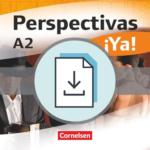 Perspectivas ¡Ya! - Einstufungstest als Download - A2
