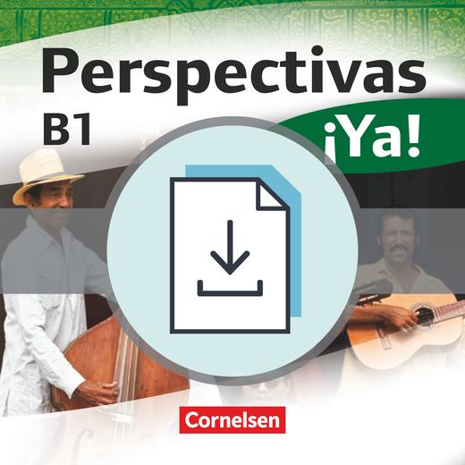Perspectivas ¡Ya! - Einstufungstest als Download - B1