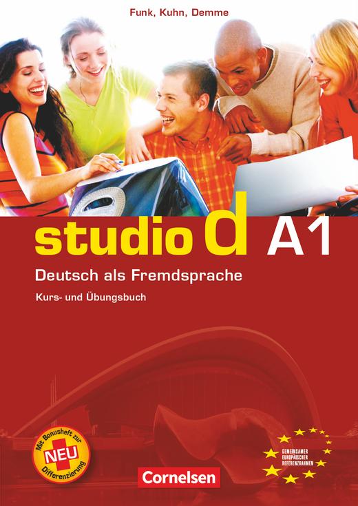 Studio d - Kurs- und Übungsbuch mit Lerner-Audio-CD - A1: Gesamtband