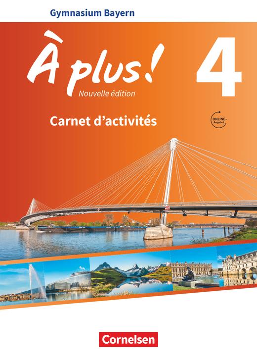 À plus ! - Carnet d'activités mit Audios online - Band 4