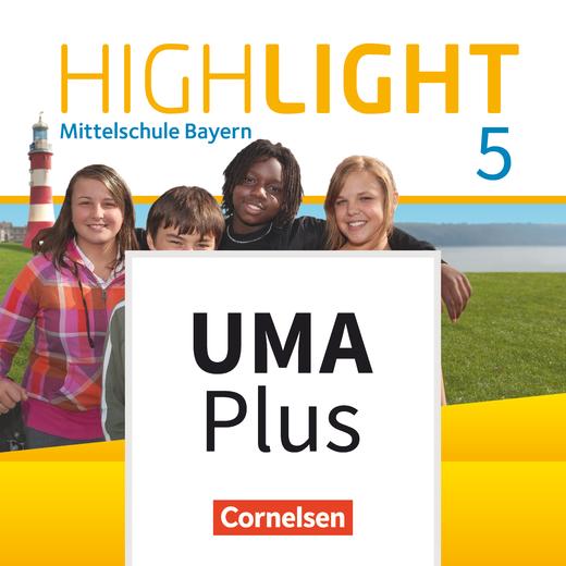 Highlight - Unterrichtsmanager Plus - mit Download für Offline-Nutzung - 5. Jahrgangsstufe