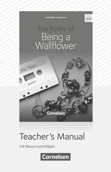 Cornelsen Senior English Library - The Perks of Being a Wallflower - Teacher's Manual - Ab 10. Schuljahr