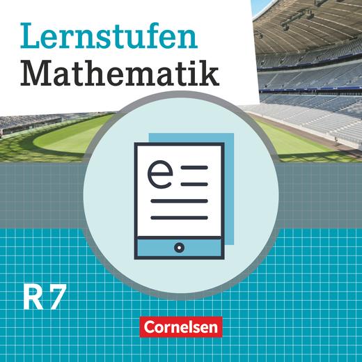 Lernstufen Mathematik - Schülerbuch als E-Book - 7. Jahrgangsstufe