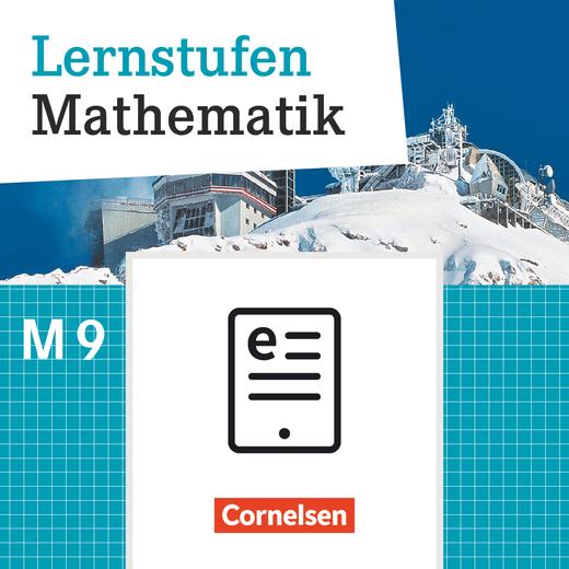 Lernstufen Mathematik - Schülerbuch als E-Book - 9. Jahrgangsstufe