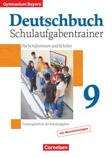 Deutschbuch Gymnasium - Schulaufgabentrainer mit Lösungen - 9. Jahrgangsstufe