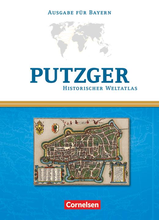 Putzger - Historischer Weltatlas - Kartenausgabe Bayern