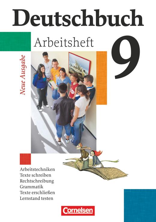 Deutschbuch Gymnasium - Arbeitsheft mit Lösungen - 9. Schuljahr - 6-jährige Sekundarstufe I