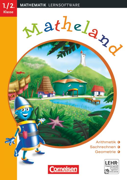 Matheland - Arithmetik, Sachrechnen, Geometrie - CD-ROM - Teil 1: 1./2. Schuljahr