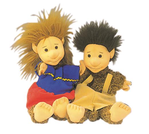 Tobi - Ela und Alo - Handpuppen