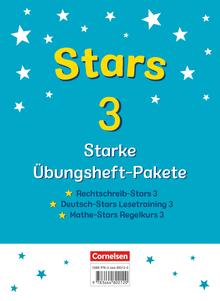 STARS - starke Übungshefte - Übungshefte im Paket mit Lösungen - 3. Schuljahr