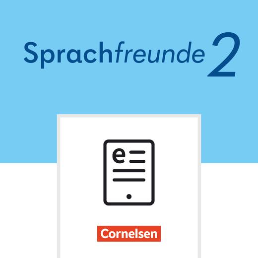 Sprachfreunde - Sprachbuch als E-Book - 2. Schuljahr