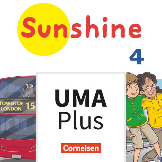 Sunshine - Unterrichtsmanager Plus - mit Download für Offline-Nutzung - 4. Schuljahr